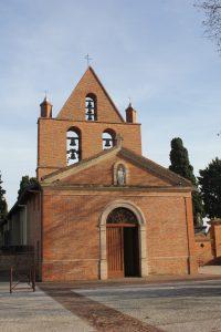 Photo récente de l'église St Martial à Mondouzil