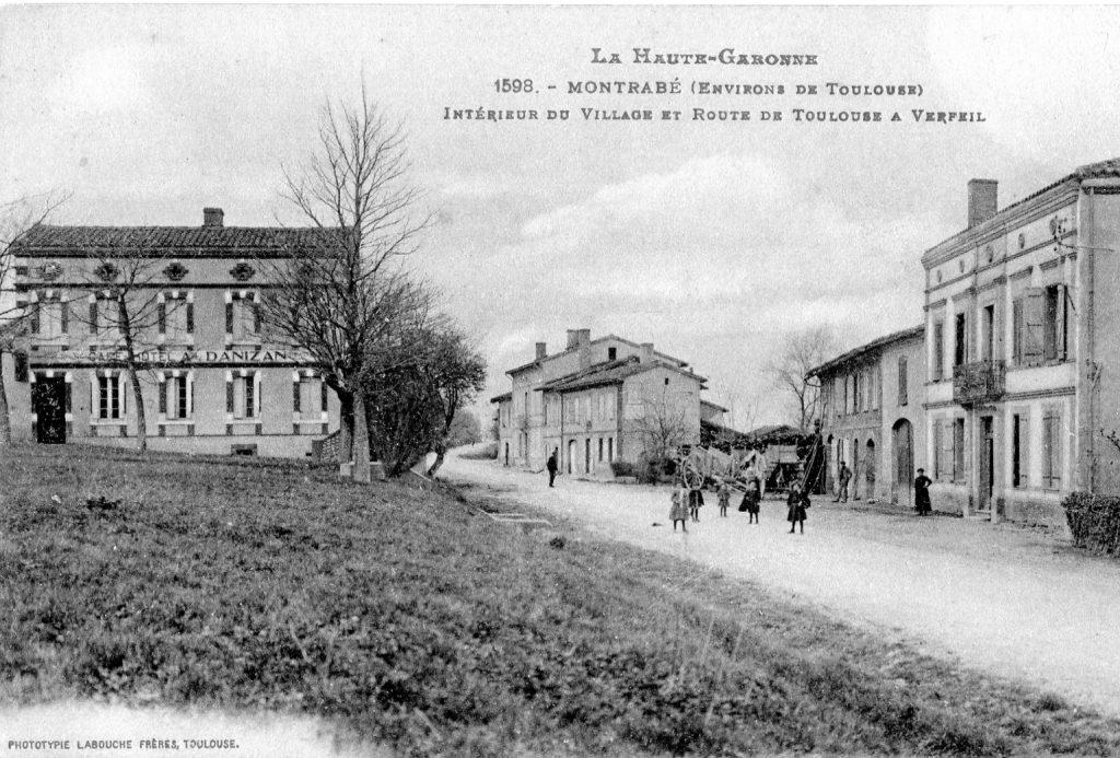 Le centre du village vers les années 1910