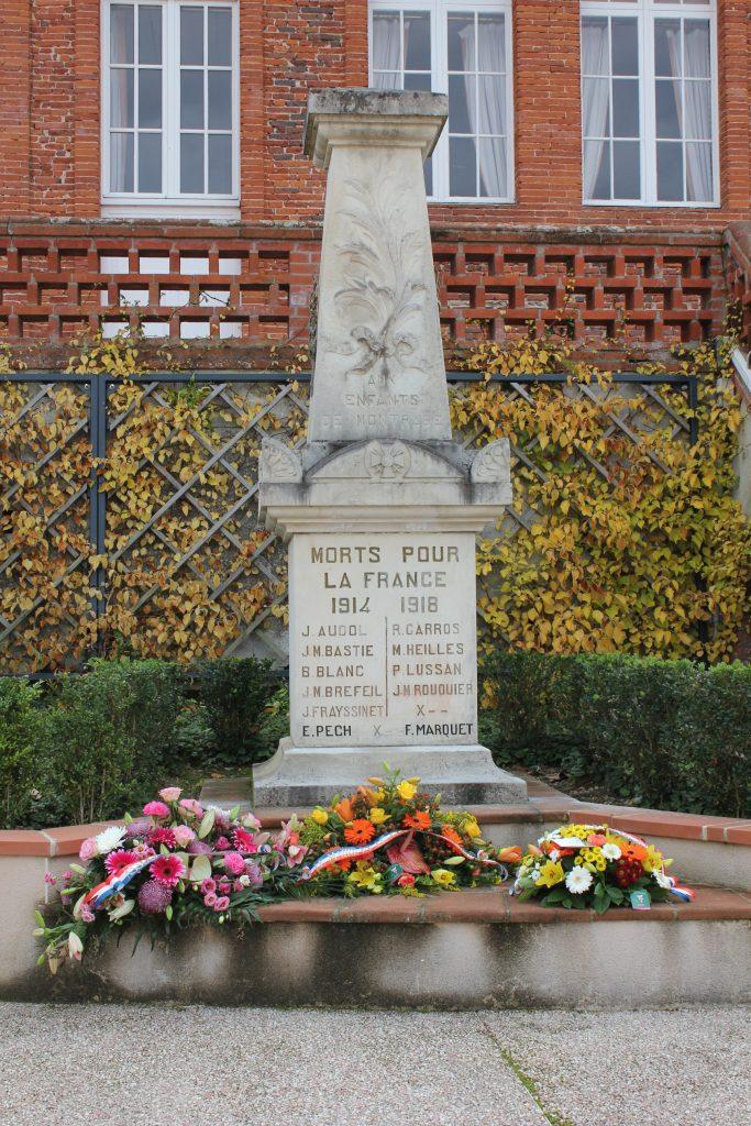 Monument aux Morts de Montrabé