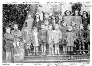 Classe de Melle Grillé en 1945