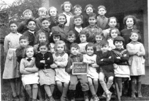 Classe de Melle Galey en 1952-1953