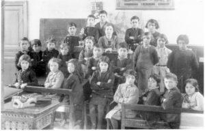 Classe de Melle Grillé en 1933-1934