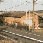 La ferme Sanças en 1993. Aujourd'hui restaurant au Terlon