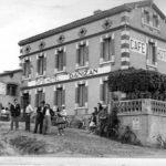 Café hotel Danizan en 1949