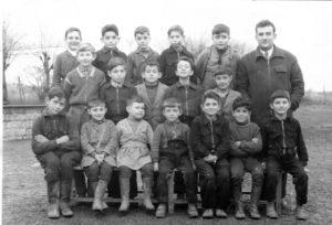 Classe de M. Gaston, année 1955-1956